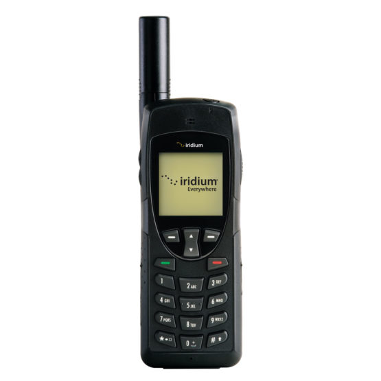 Iridium-9555-Satellittelefon-front